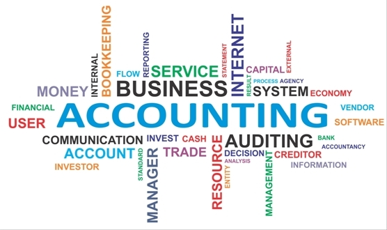 Accounting Words Concept