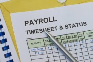 Image of Payroll Spreadsheet