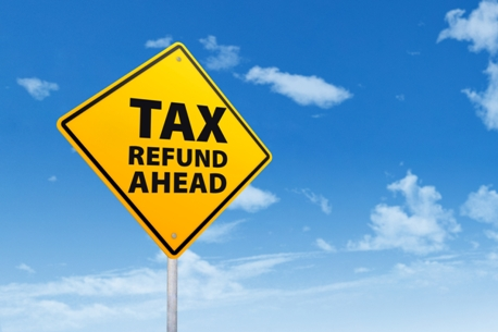 http://www.dreamstime.com/stock-photo-tax-refund-ahead-image37672960